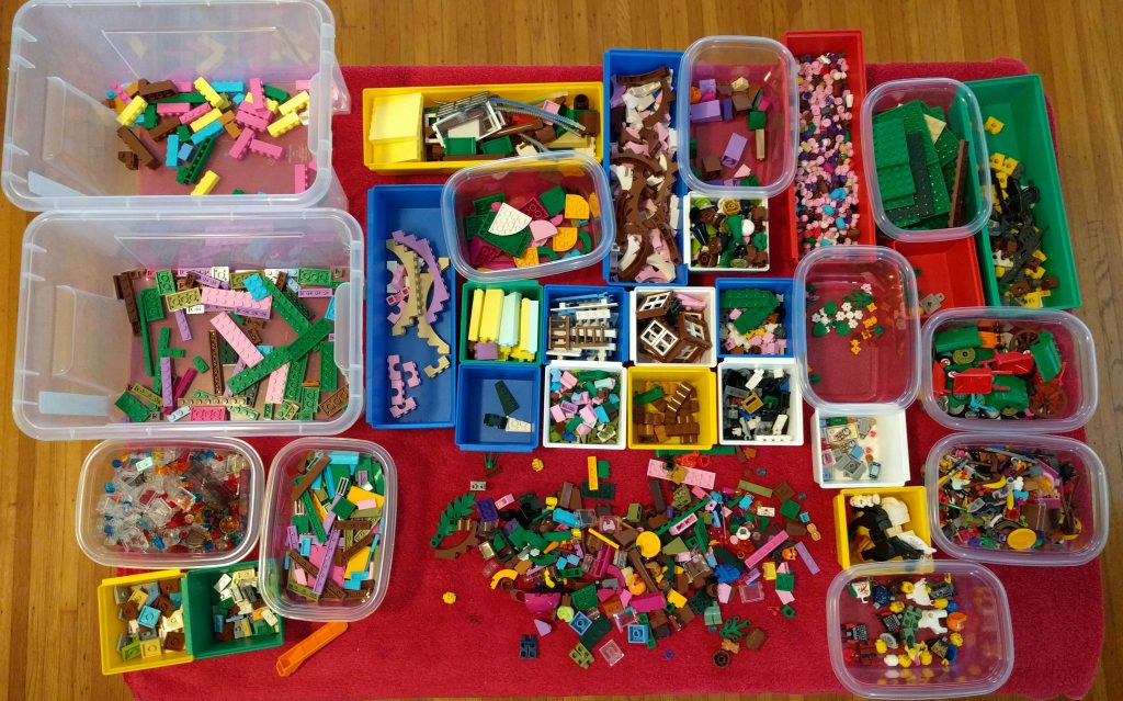 Sorting in progress